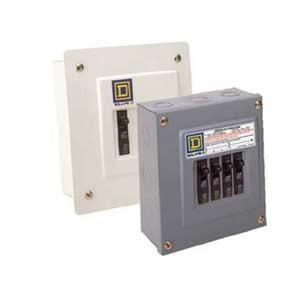 Interruptores y centro de carga